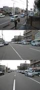 お正月早々、店の前は車・車・車だらけの画像