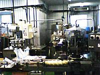 寺尾牧場の工場内部の様子